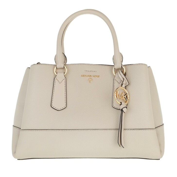 Handtasche, MICHAEL Michael Kors, Medium Satchel Light Sand