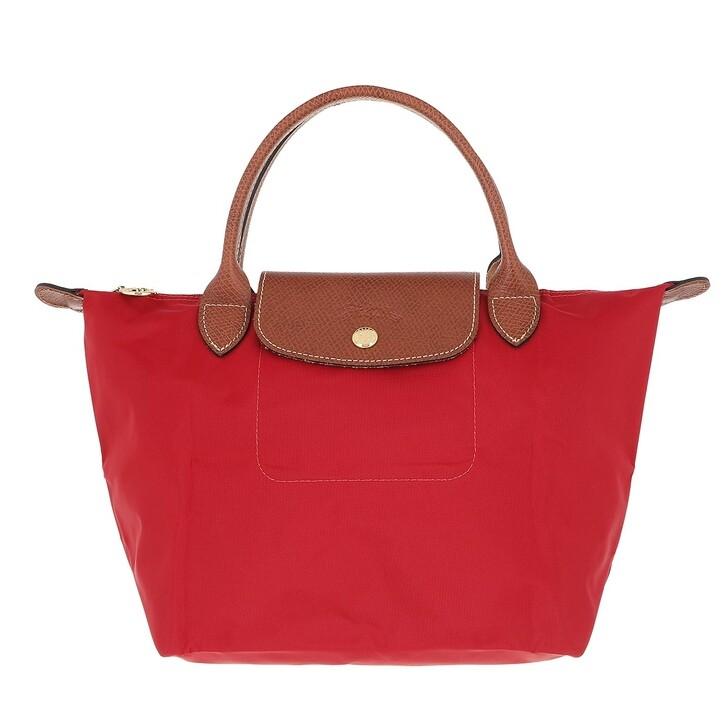 bags, Longchamp, Le Pliage Original Handbag  Red