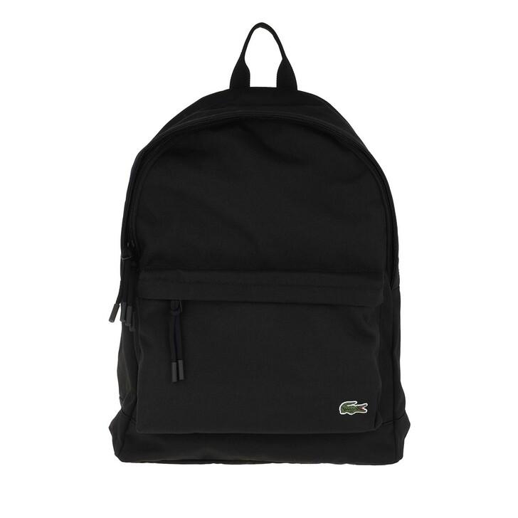 Handtasche, Lacoste, Neocroc Backpack Black
