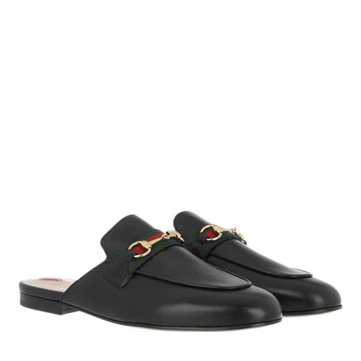 Schuh, Gucci, Princetown Slipper Leather Black