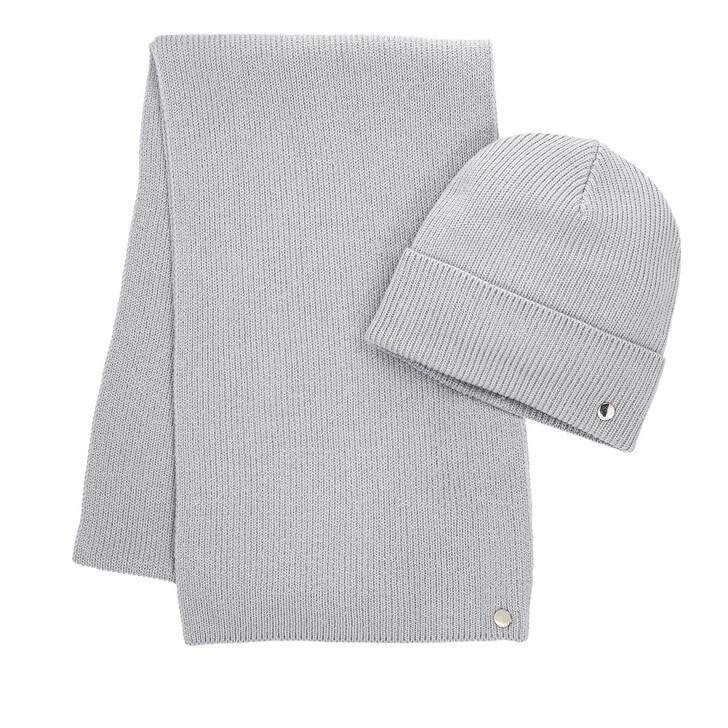 Schal, Hugo, Women-Xmas Set Medium Grey