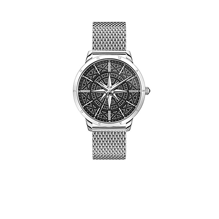 Uhr, Thomas Sabo, Watch Rebel Spirit Compass Silver/Black