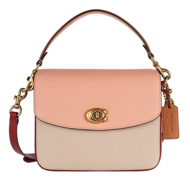 Handtasche, Coach, Colorblock Cassie Crossbody 19 Ivory Blush Multi