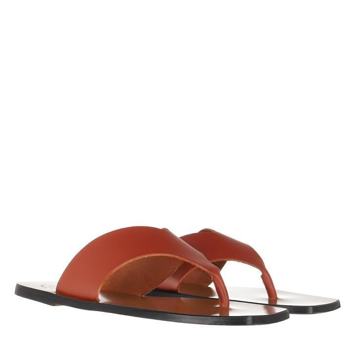 Schuh, ATP Atelier, Flat Sandal Rust