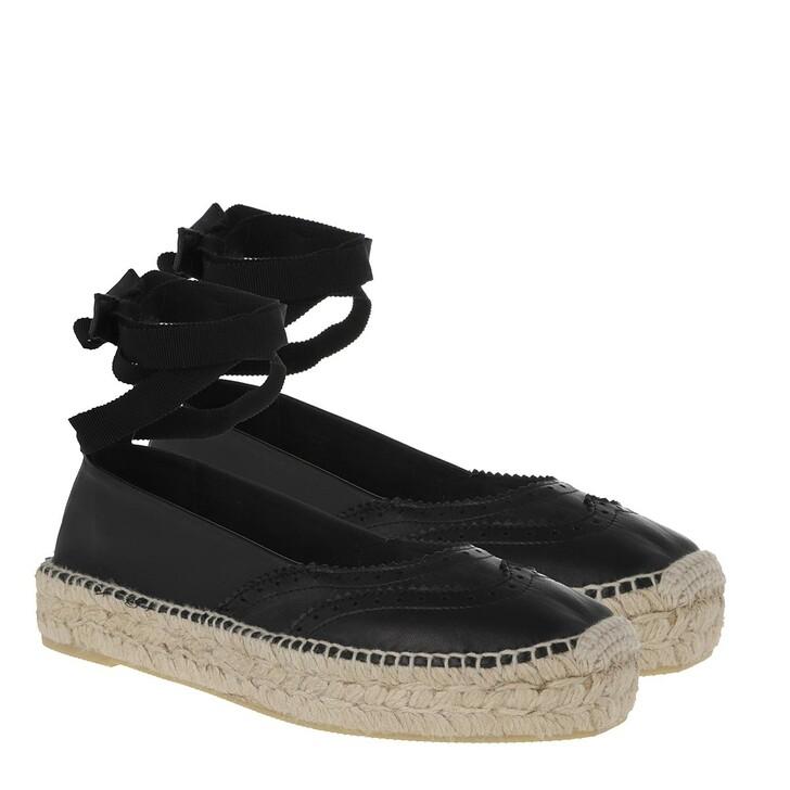 Schuh, Polo Ralph Lauren, Casual Tie Espadrilles Black