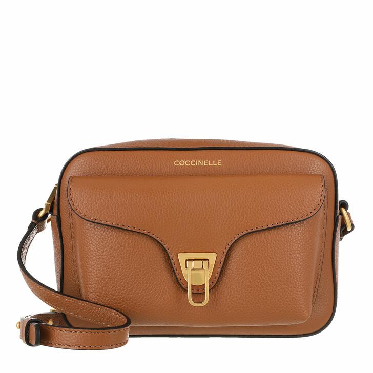 Handtasche, Coccinelle, Beat Soft Mini Crossbody Bag Caramel