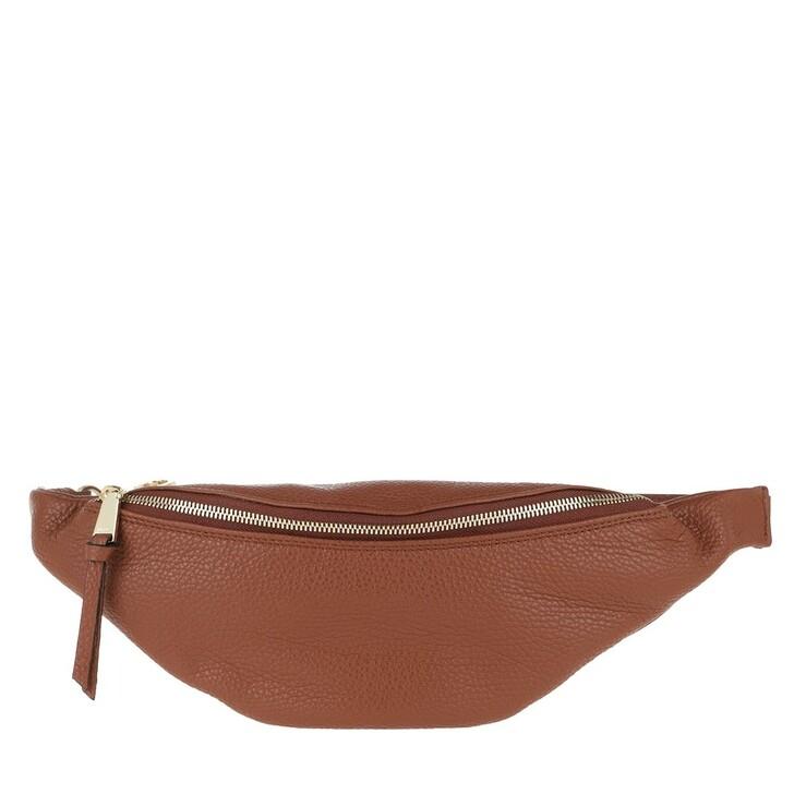 Handtasche, Abro, Linna Belt Bag Cognac