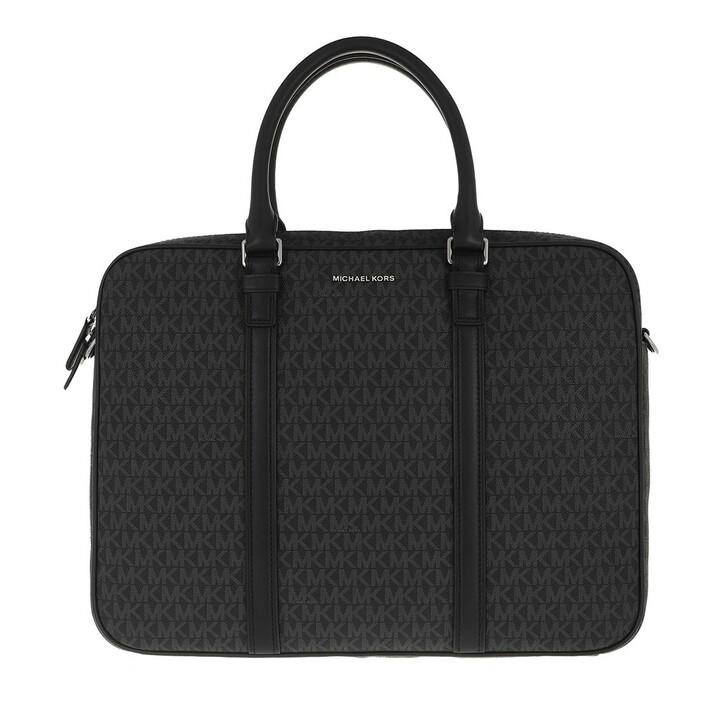 Handtasche, MICHAEL Michael Kors, Commuter Briefcase Black