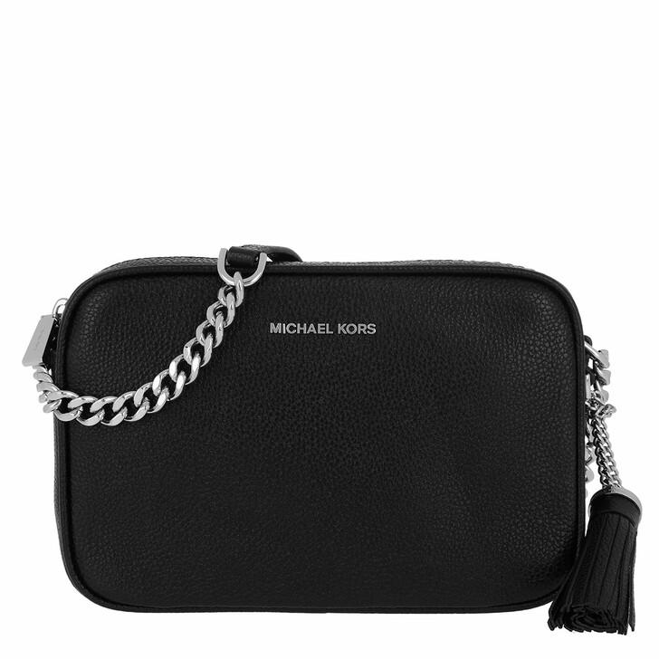 Handtasche, MICHAEL Michael Kors, Medium Camera Bag Black
