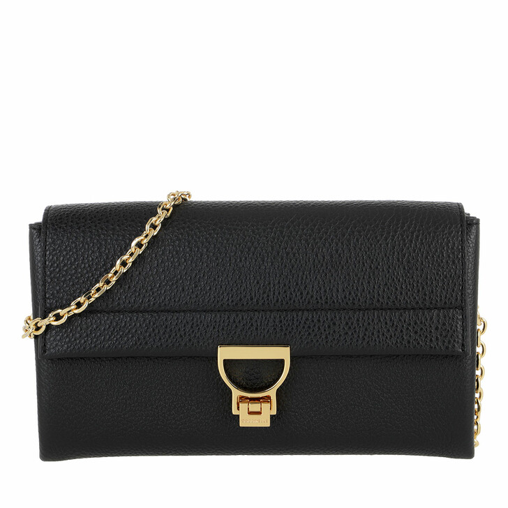 Handtasche, Coccinelle, Arlettis Grainy Leather Noir