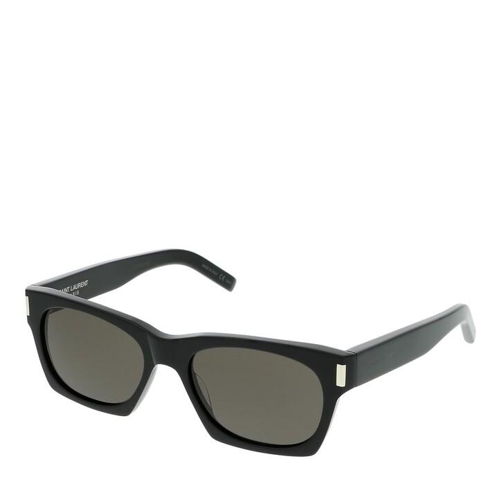 Sonnenbrille, Saint Laurent, SL 402-001 54 Sunglass UNISEX ACETATE Black