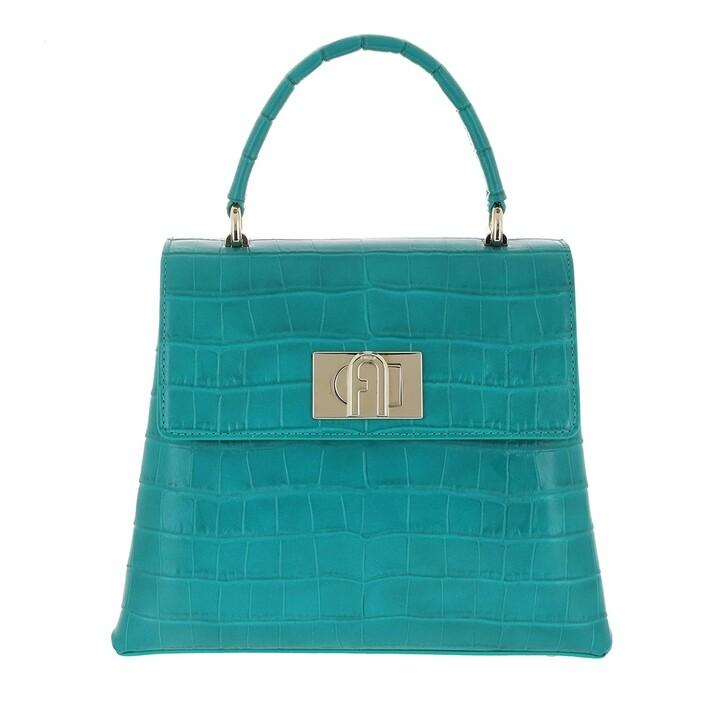 Handtasche, Furla, 1927 Small Handle Bag Smeraldo