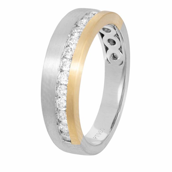 rings, VOLARE, Ring 16 Brill ca. 0,35 Bicolor