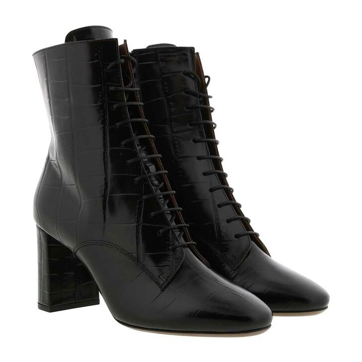 Schuh, L´Autre Chose, Zip Ankle Boot Kokko Black