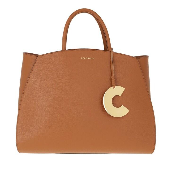 Handtasche, Coccinelle, Concrete Caramel