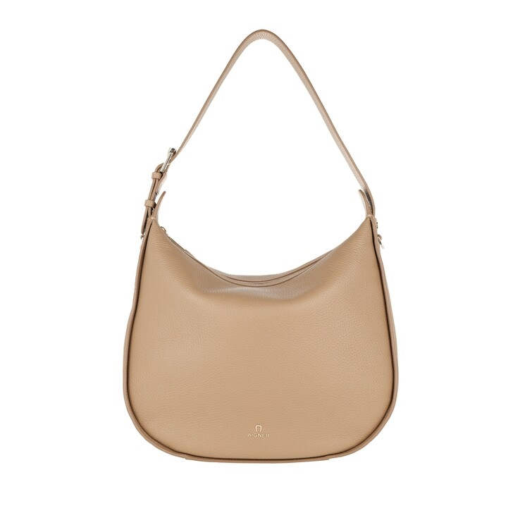 Handtasche, AIGNER, Ivy Handle Bag Cashmere Beige