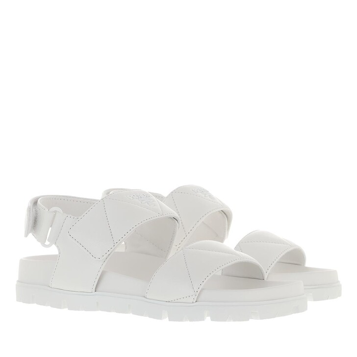 shoes, Prada, Sandals White