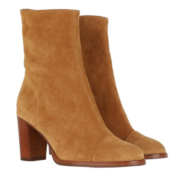 Schuh, Closed, Rosemary Boots Raffia