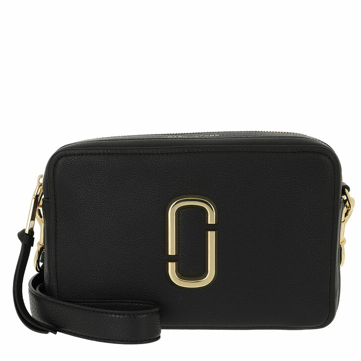 Handtasche, Marc Jacobs, The 27 Camera Bag Leather Black