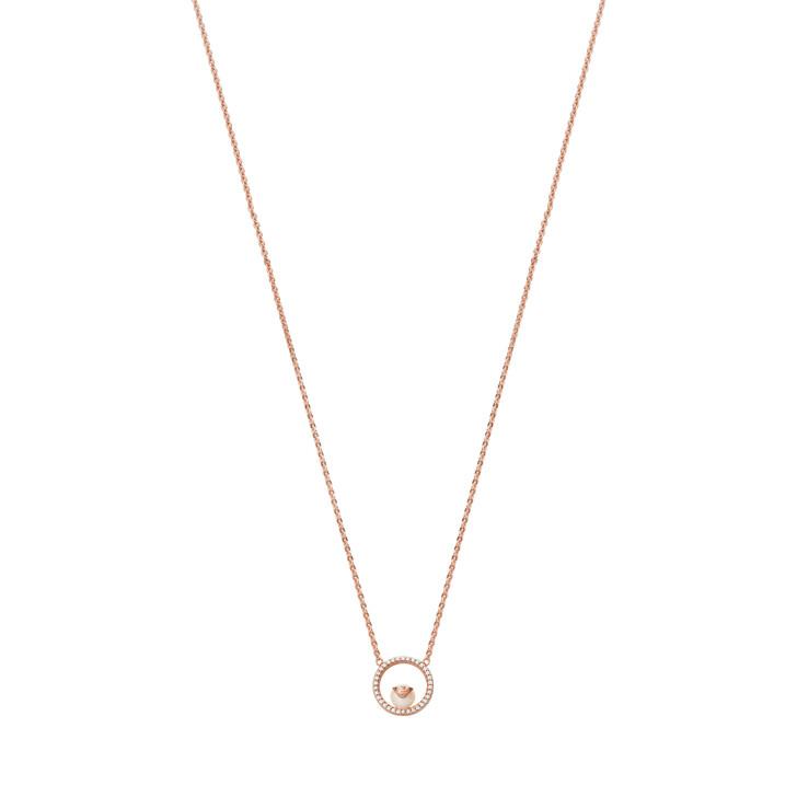 necklaces, Emporio Armani, Sterling Silver Necklace Rose Gold