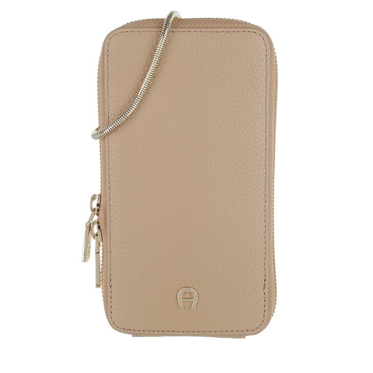 Bag Straps, AIGNER, Fashion Phone Bag Cashmere Beige