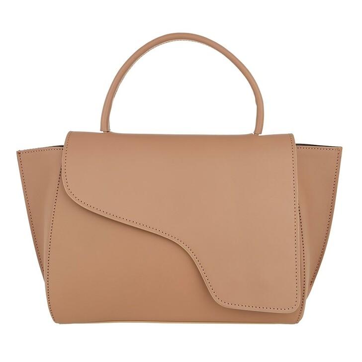 Handtasche, ATP Atelier, Arezzo Tote Bag Almond