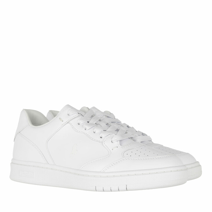Schuh, Polo Ralph Lauren, Court Sneakers Athletic Shoe White/White