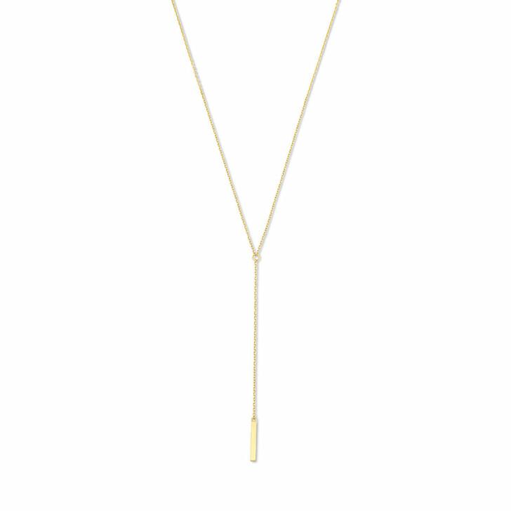 necklaces, Isabel Bernard, Le Marais Dauphine 14 Karat Necklace With Rods Gold