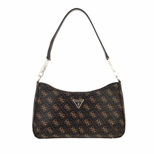 GUESS Logo Love Box Satchel Handtasche Tasche Ivory Weiß Neu
