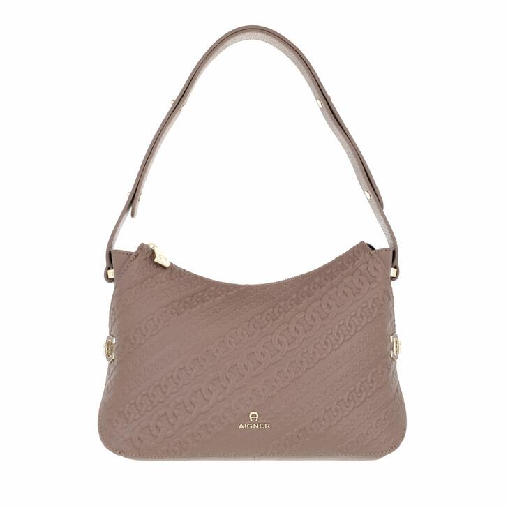 bags, AIGNER, Catena Mini Bag Mushroom Brown