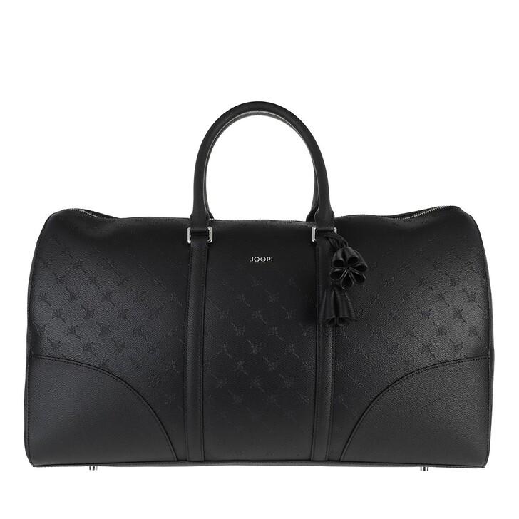 bags, JOOP!, Cortina Stampa Aurora Weekender Lhz Black