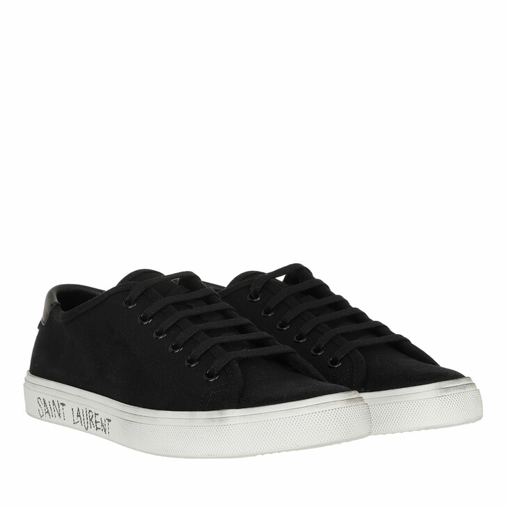 Schuh, Saint Laurent, Malibu Canvas Sneakers Black
