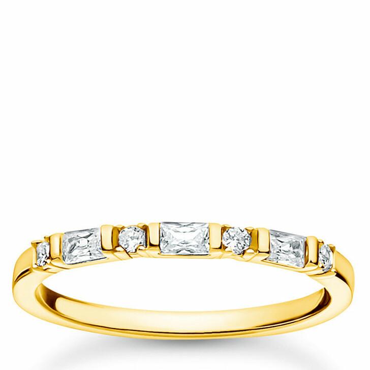 rings, Thomas Sabo, Ring Yellow Gold