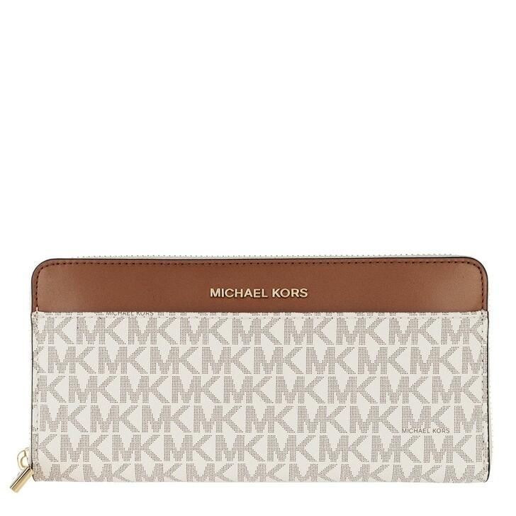 Geldbörse, MICHAEL Michael Kors, Pocket Continental Wallet Vanilla