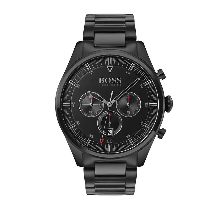 Uhr, Boss, Watch Pioneer Black