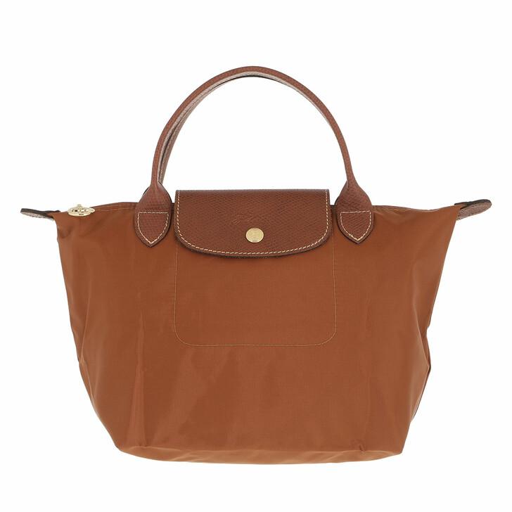 bags, Longchamp, Le Pliage Original Handbag  Cognac