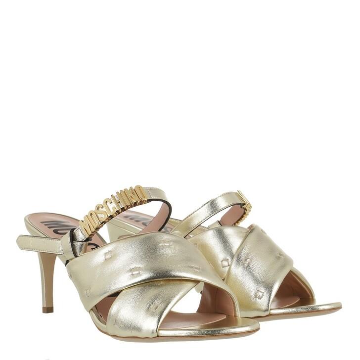 Schuh, Moschino, Shoe Platino