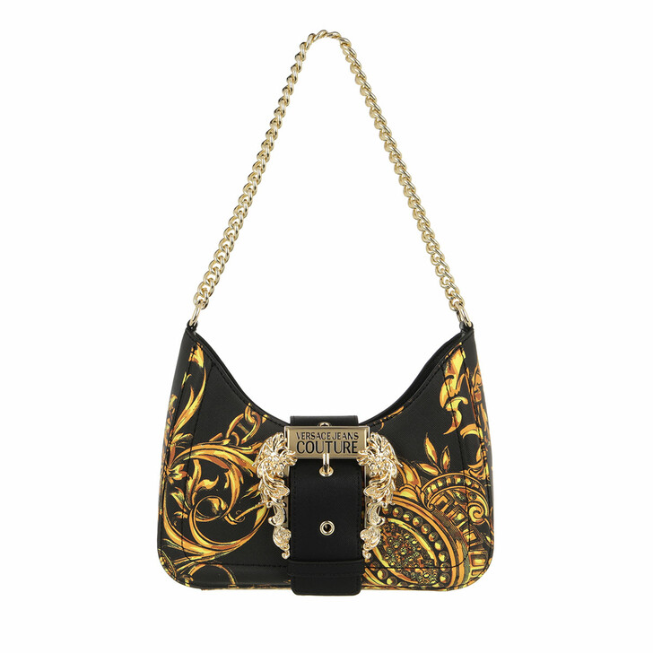 bags, Versace Jeans Couture, Crossbody Bag Black/Gold