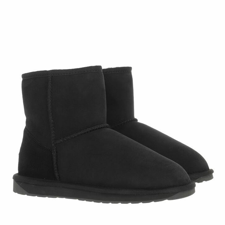 shoes, EMU Australia, Stinger Mini Boot Sheepskin Black