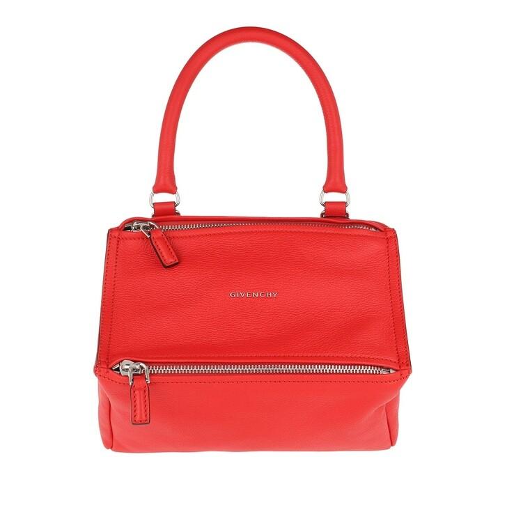 Handtasche, Givenchy, Pandora Small Bag Goat Red