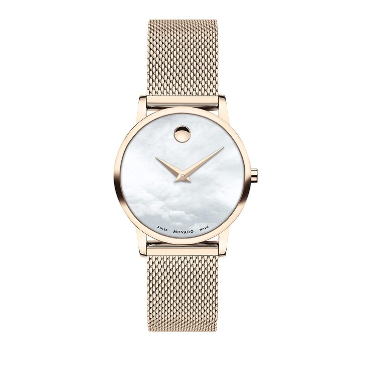 Uhr, Movado, Museum Classic Watch Rose Gold