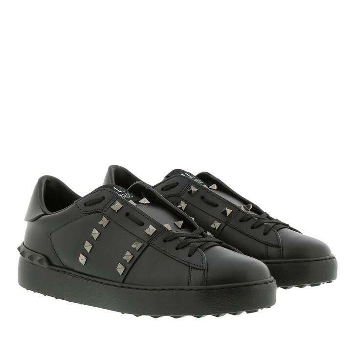 Schuh, Valentino Garavani, Rockstud Sneaker Nero