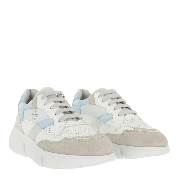 Schuh, Copenhagen, Sneaker Material Mix Light Blue