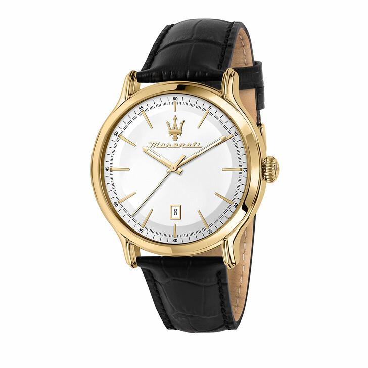 watches, Maserati, Watch Epoca 42mm 3H White/Silver and Black