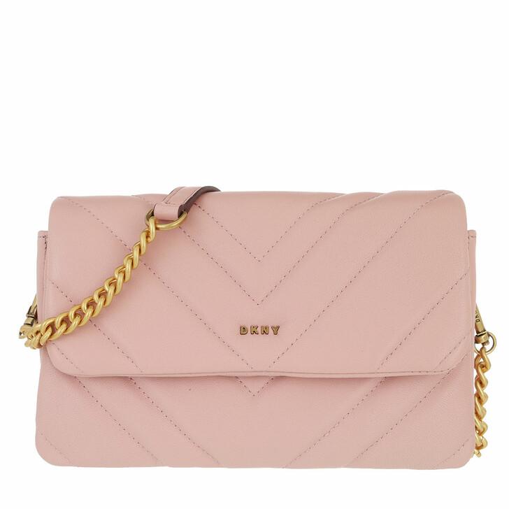 Handtasche, DKNY, Vivian Double Small Crossbody Cashmere