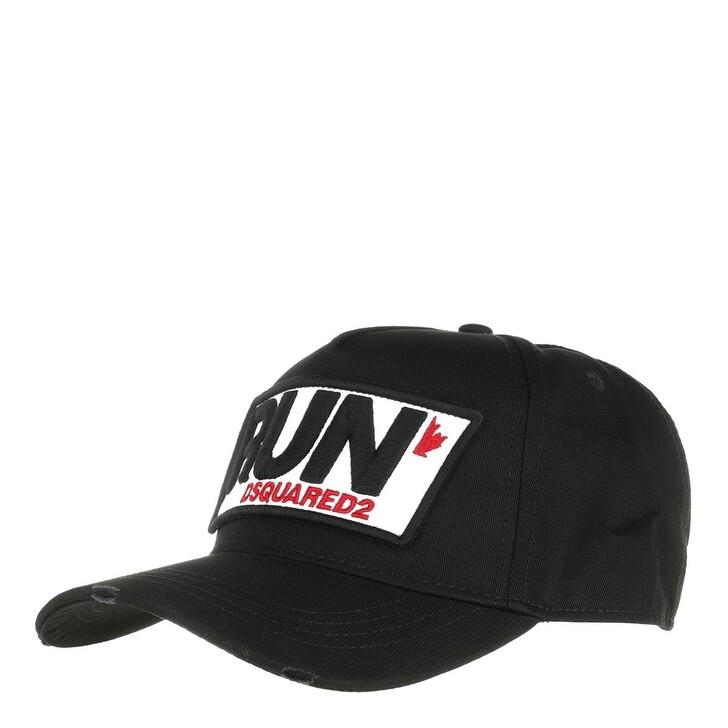 Mütze, Dsquared2, Run Cargo Baseball Cap Black