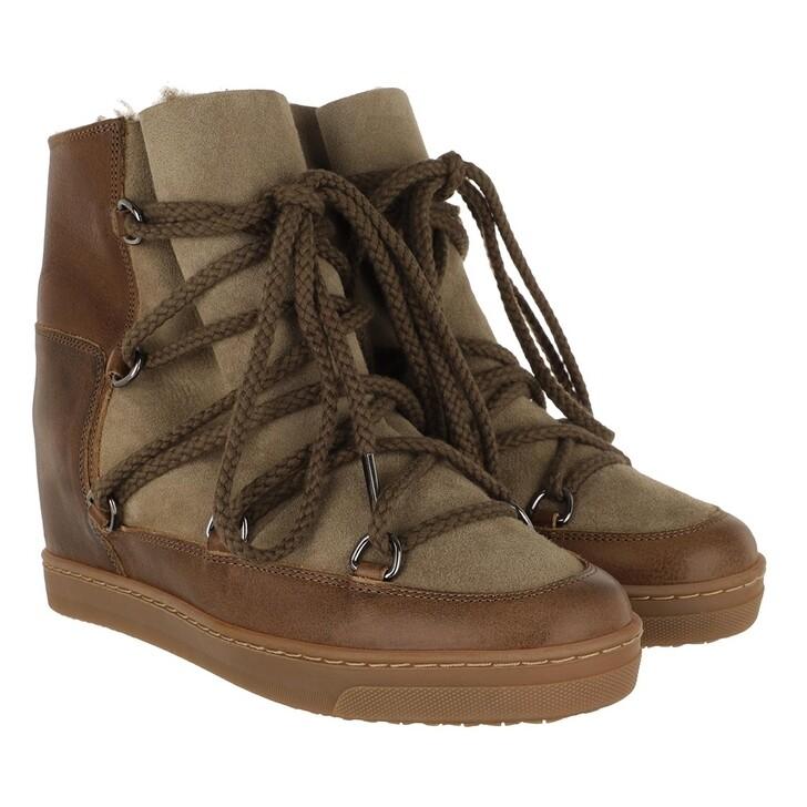 Schuh, Isabel Marant, Ankle Boots Khaki