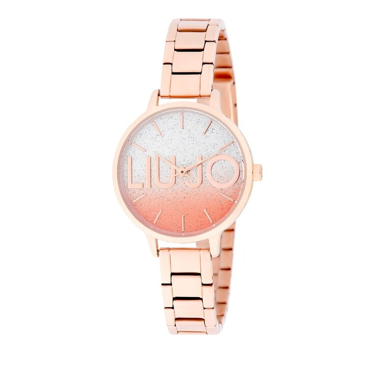 Uhr, LIU JO, TLJ1793 Couple Light Quartz Watch Bicolor Rosegold