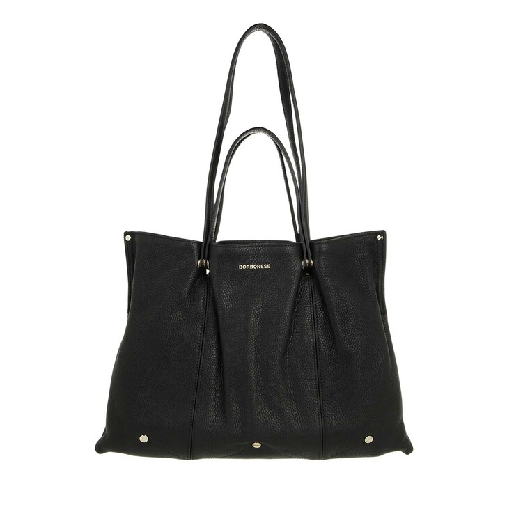 bags, Borbonese, Medium Aspen Bag Black