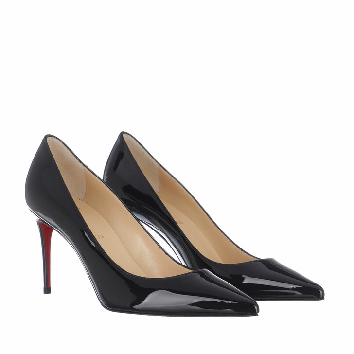 Schuh, Christian Louboutin, Kate 85 Pumps Leather Black